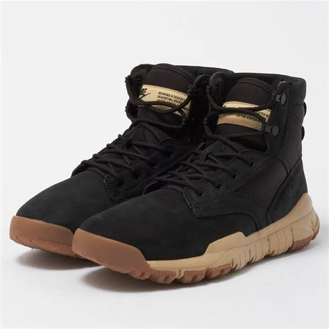 nike sfb 6 quot leather boot black 862507 005
