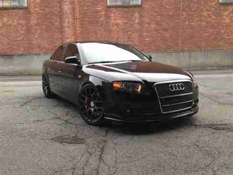 Audi A4 2 0 T Tuning by Buy Used 2007 Audi A4 2 0t Custom Must See To
