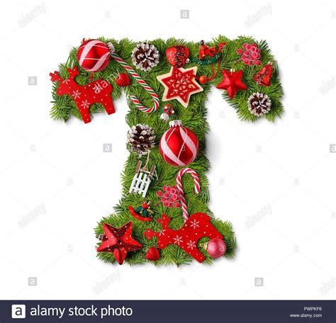 christmas alphabet letter  isolated  white stock photo  alamy