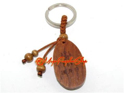 wooden chinese zodiac keychain rabbit