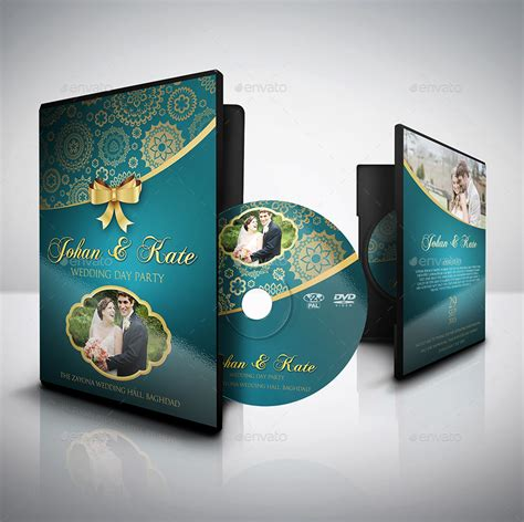 wedding dvd cover and label template bundle vol 1 by