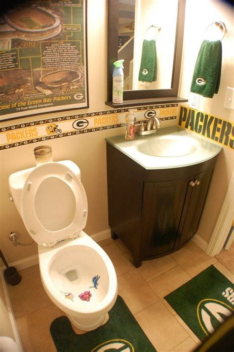 green themed bathroom best 25 sports theme basement ideas on pinterest man
