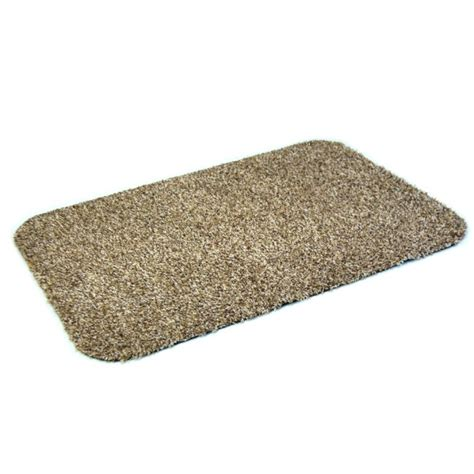 Tiny Mat dirt trapper mat choice of colour small 50 x 75cm 100 cotton anti slip machine washable