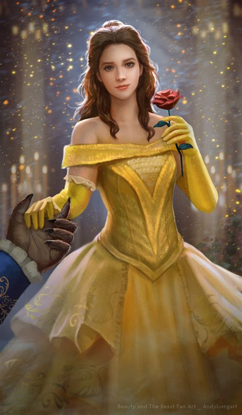 2017 movie beauty and the beast princess belle dress belle fan art beauty and the beast 2017 by andyliongart on