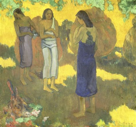 gauguin by himself buy gauguin by himself online at low price in india on snapdeal paul gauguin three tahitian women against a yellow background state hermitage museum buy