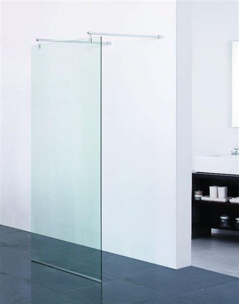parete vetro doccia parete doccia in vetro temperato 100x75 120 cm