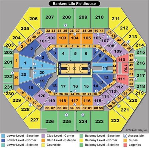 bankers fieldhouse seating chart with rows bankers fieldhouse seating chart car interior design