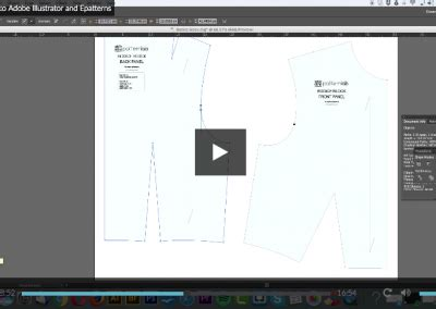 pattern cutting with adobe illustrator courses patternlab