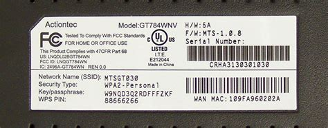 reset verizon router gt784wnv actiontec gt784wnv mts