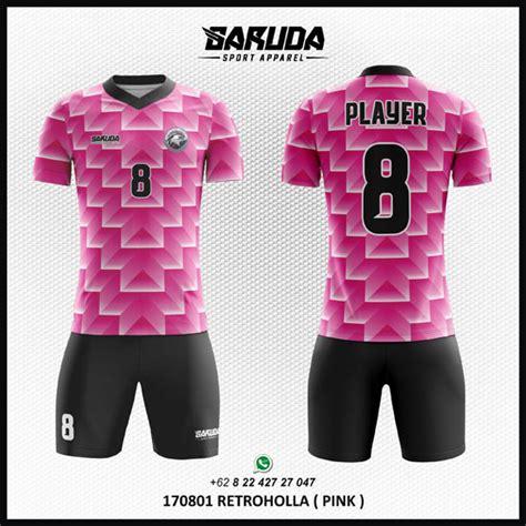 desain jersey warna pink pilihan desain kaos futsal terbaik warna pink garuda