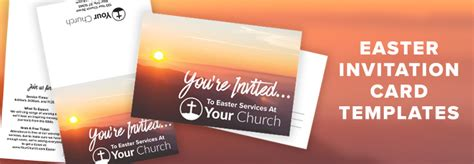 church invite cards template 7 ideas tips resources for your church this easter