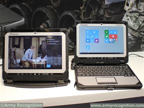 Panasonic Toughbook Cf 20 Notebook panasonic introduced the world s 1st fully rugged detachable notebook toughbook cf 20 milipol