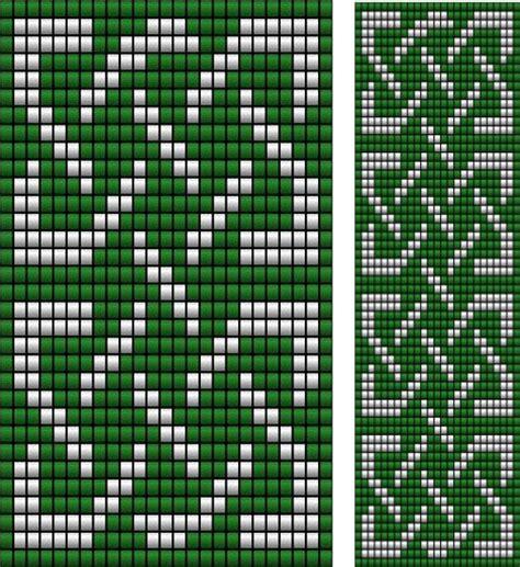 celtic bead patterns celtic knot ribbon 4 loom sova enterprises