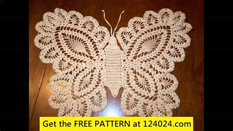 free crochet pattern on youtube crochet butterfly free patterns youtube