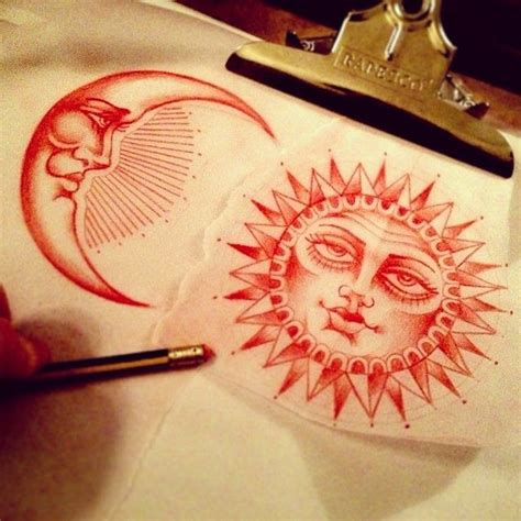 traditional sun tattoo best 20 sun moon tattoos ideas on sun