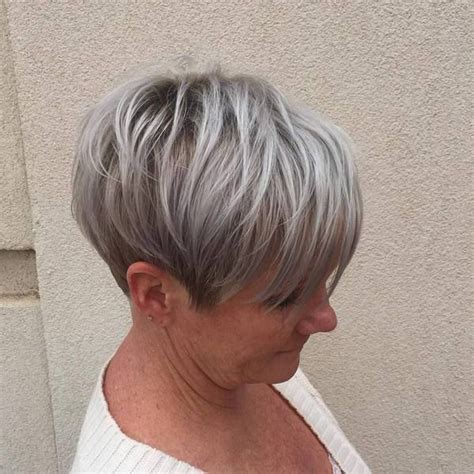 short salt and pepper hair salt and pepper hair styles short hairstyles for women