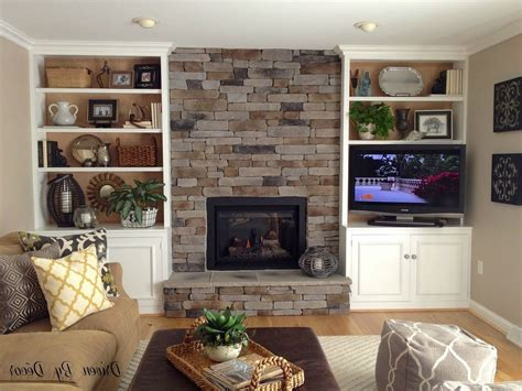 How To Build In Bookcases Around Fireplace Design