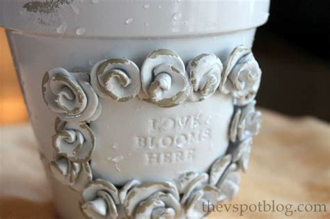 shabby chic spray paint 29 best images about peat pots on