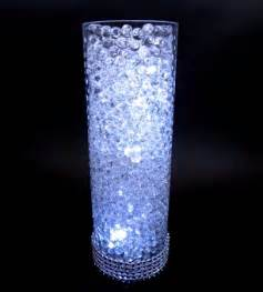 led submersible lights wedding bling centerpieces