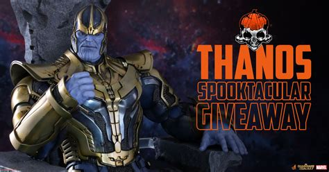 figure giveaway thanos sixth scale figure giveaway sideshow collectibles