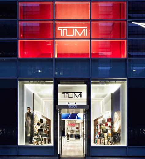 designboom store tumi flagship store by dror opens on madison avenue in nyc