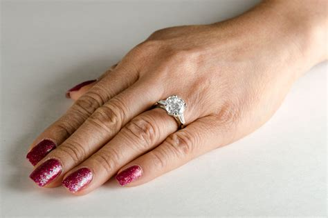 elegant wedding ring side hand matvuk com