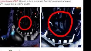 Five nights at freddy s 2 theory hidden faces bonnie s marionette s