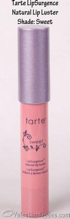 Product Review Tarte The Eraser by Tarte Tarte Lipsurgence Lip Luster In Sweet
