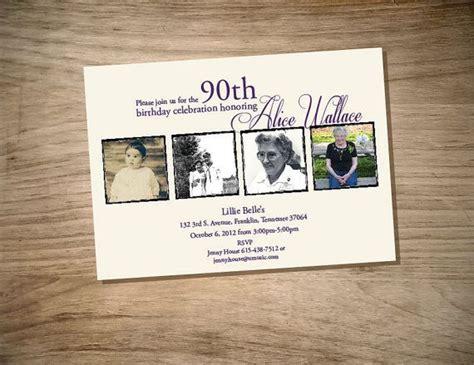 free printable 90th birthday invitations printable birthday invitation by magnoliasouthdesigns on