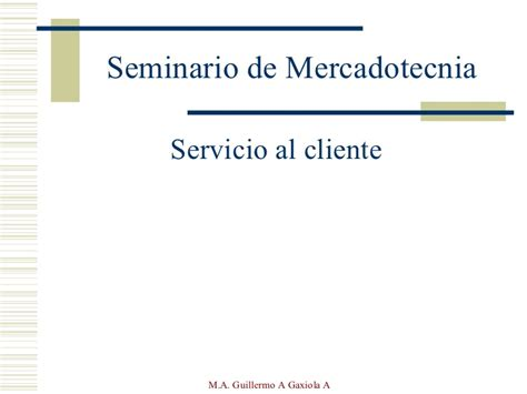 Presentacion En Power Point Servicio Al Cliente | presentaci 243 n servicio al cliente