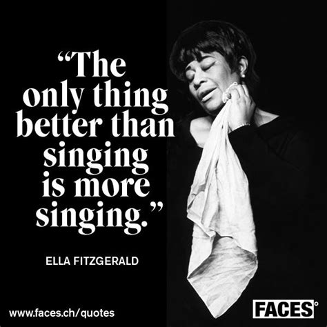 ella fitzgerald quotes inspirational quote by ella fitzgerald the only
