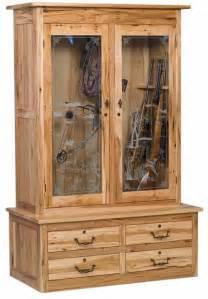 amish made custom gun cabinets the wood loft amish