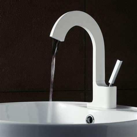 Chrome Kitchen Faucet mitigeur lavabo vasque design cut blanc bonde treemme