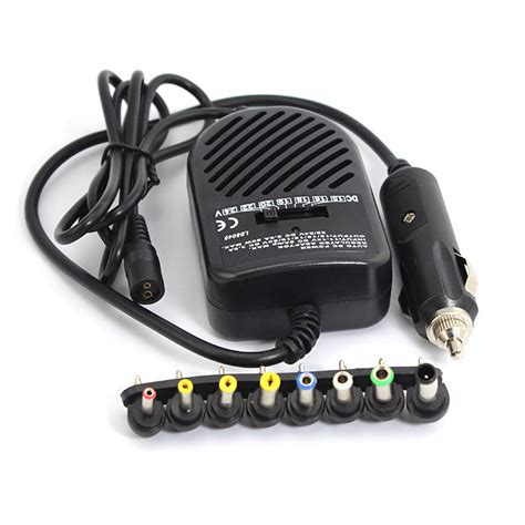 Adaptor Car For Laptopnotebook universal dc 80w car charger adapter set power supply for laptop notebook new in laptop