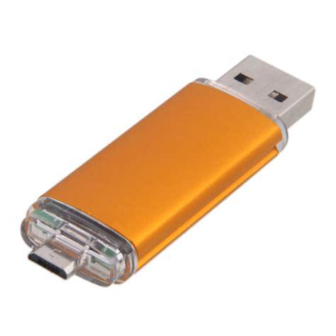 Usb Stik Pc 8gb dual port smart phone pc otg usb 2 0 memory stick flash drive blue ebay