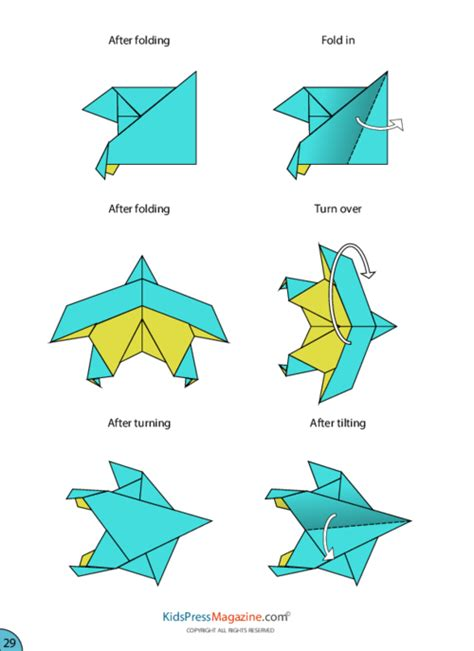 How To Make A Eagle Paper Airplane - paper airplane eagle kidspressmagazine
