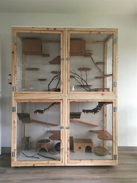 25 best ideas about chinchilla cage on ferret