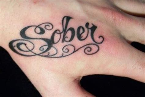 sober tattoos serenity skin sober tattoos the fix