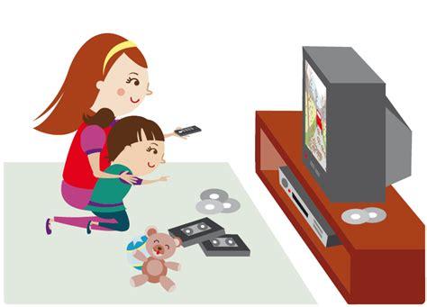 imagenes de niños viendo tv dibujo de ni 241 o viendo television imagui