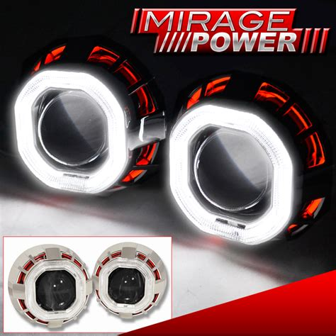 Lu Eye Angle Projector Be Xenon 2ring for audi volve bi xenon projector headlight lnss ccfl ring shroud ebay