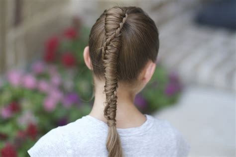 cute girl hairstyles knotted braid knotted braids cute girls hairstyles