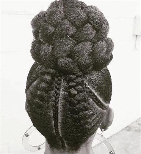 cornrowed bun braids french braids cornrows bun braid bun