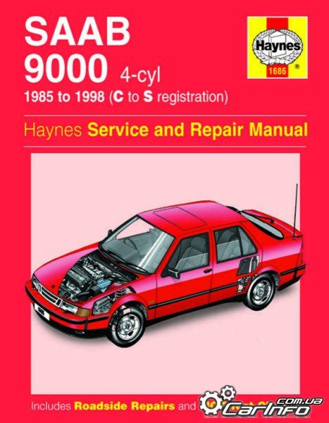saab 9000 1985 98 haynes service and repair manual