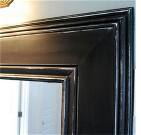 stick on frames for bathroom mirrors home dzine bathrooms frame a bathroom mirror