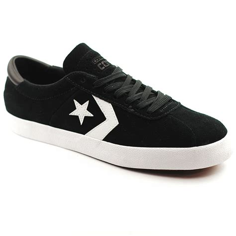 converse breakpoint pro ox black white black forty two