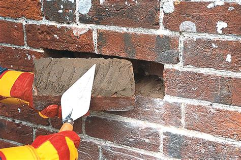 yourhome guide to diy replacing a damaged brick