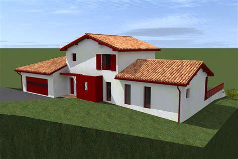 Mission Style House Plans etude de plans sur mesure projet dans les pyr 233 n 233 es