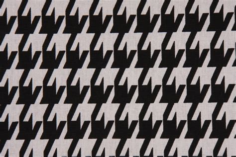 large houndstooth upholstery fabric premier prints large houndstooth printed cotton drapery