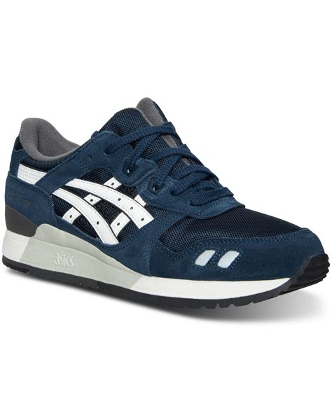 asics sneakers mens asics s gel lyte iii casual sneakers from finish line