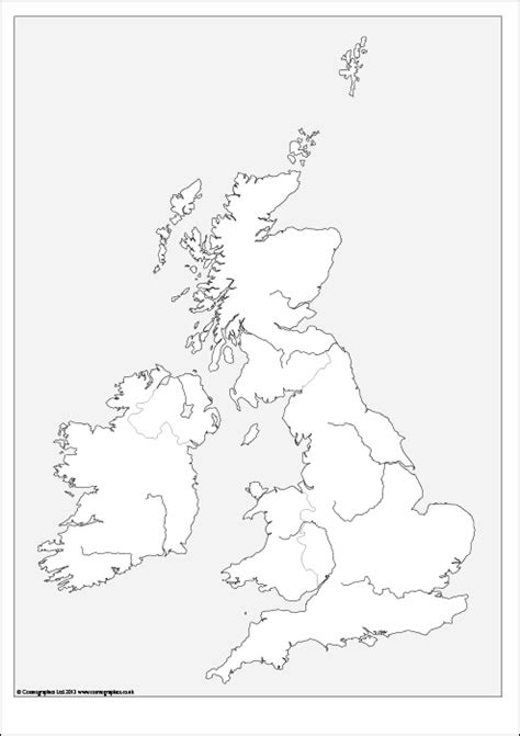 outline map   british isles   cosmographics